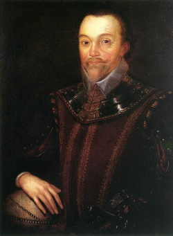 Portrait of Sir Fancis Drake